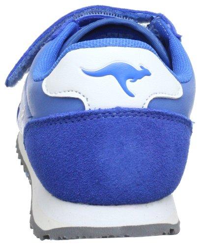 KangaROOS Changed-Becky 1270A Mädchen Sneaker Blau (flyhigh/wht 430)