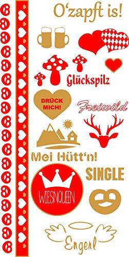 o Tracht Wiesnqueen Rot Gold 320111875 (Bilder Von Trachten)