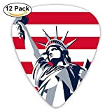Goddess Of Victory Guitar Picks 12 Pack Set Paddles Plectrums For Guitarist Players