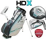 Wilson Prostaff HDX Deluxe DAMEN Graphit Komplett Golf Schläger Set & prostaff Golftasche