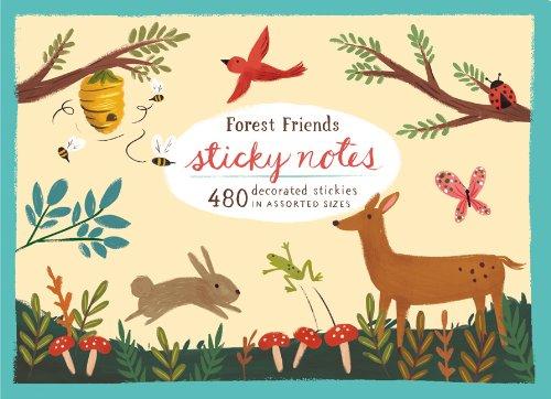 Sticky Notes: Forest Friends