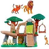 Le Roi Lion LNN07000 - Il Re Terra dei Lions con 3 Personaggi e Accessori