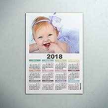 Calendarios personalizados poster 30 x 42 cm. - Imprime tu pack de 10 calendarios idénticos.