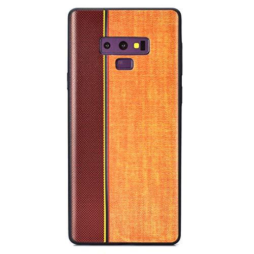 Carols Samsung Galaxy Note 9 Hülle, TPU Handyhülle Schutzhülle für Samsung Galaxy Note 9 Case Cover, Samsung Galaxy Note 9 Case Cover Black - Khaki