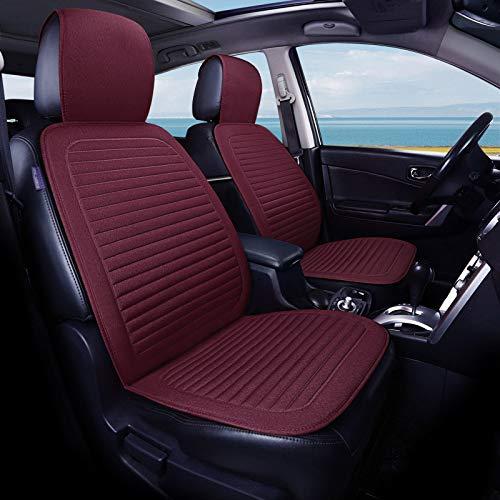 Sendgo - Coprisedile Universale in Cotone, per sedili Auto con Cerniera, Impermeabile, per la Maggior Parte delle Auto Vio