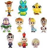 Disney Pixar Toy Story4, Coffret 10 Mini-Figurines, Jouet Miniature pour Enfant, GCY86
