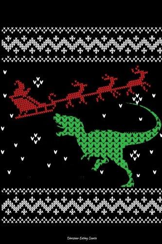 Dinosaur Eating Santa Lined Journal: Volume (36 Di Santa)
