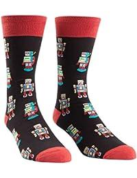 Sock It To Me Robosock Mens Crew Socks
