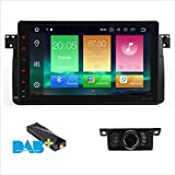 Android 8.0 GPS Navigation Octa-Core 64bit 22,9 cm Kapazitive Touchscreen Auto Stereo Head Unit Radio DAB GPS + Canbus Screen Mirroring Funktion OBD2 Für BMW E46/320/325 Rover 75 MG ZT 4 G RAM + 32G Rom
