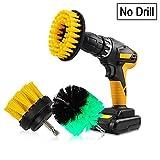 Spazzola da pulizia elettrica, spazzolone rotante per trapano, spazzola elettrica per auto, bagno, pavimenti in legno, pulizia lavanderia