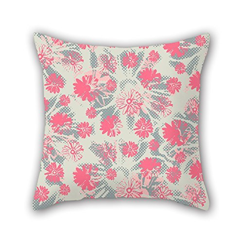 niceplw flor manta de fundas de almohada 16x 16pulgadas/40por 40cm para silla,...