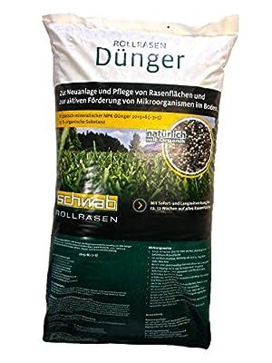 SCHWAB Rollrasendünger® 25 kg von Schwab Rollrasen GmbH bei Du und dein Garten
