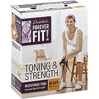 Forever ajuste por Denise Austin, tubo de resistencia tonificación y fuerza, ...