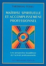 Maîtrise spirituelle et accomplissement professionnel. Une perspective bouddhiste de l'acitivité professionnelle