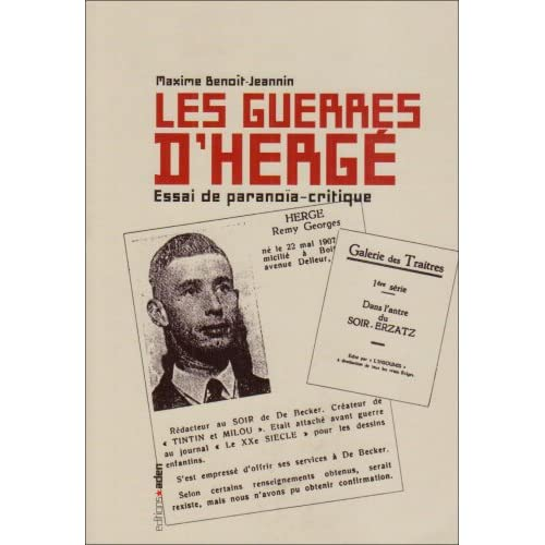 Les Guerres d'Hergé: Essai de paranoïa-critique