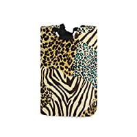 CPYang Laundry Hamper, Animal Print Theme Laundry Storage Baskets Collapsible Clothes Toy Organizer Bag for Bedrooms Laundry Room Bathroom