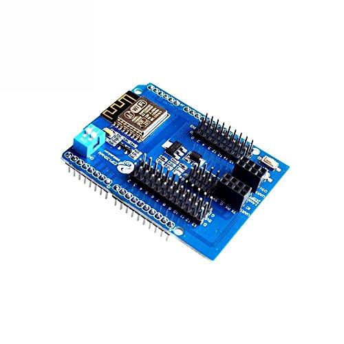 ARCELI ESP8266 Modulo seriale Shield Shield WiFi seriale con ESP-13 per Arduino UNO R3-1 PCS
