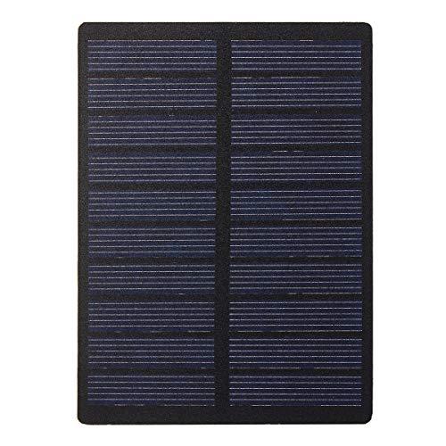 ChaRLes 1.3W 5V Polykristalline Solar Panel Diy Zelle Batterie Power Charger Modul