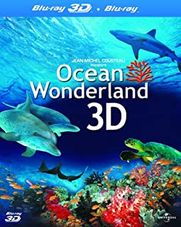 Ocean Wonderland - (Blu-ray 3D + Blu-ray) [2003] [Region Free] (B004C9MBRA) | Amazon price tracker / tracking, Amazon price history charts, Amazon price watches, Amazon price drop alerts