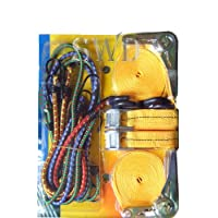 12 PC TIE DOWN AND BUNGEE CORD SET 8