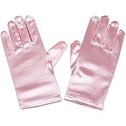 XinRui - Guantes - para mujer Rosa rosa Talla única
