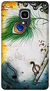 The Racoon Lean Krishna hard plastic printed back case for Samsung Galaxy Note Edge