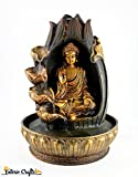 #7: Lord Buddha Fountain | Indoor Water Fountain | Buddha Fountain For Home Decor ( Material : Polyresin , Size : 31 X 23 cms ) From Interio Crafts.