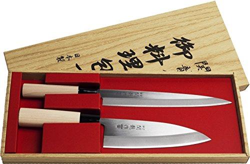 SEKIRYU [ Deba + Sashimi ] 2 japanische Messer / Küchenmesser MADE IN JAPAN # SR601