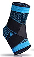 Plantar Fasciitis Sock with Arch Support,Eases Swelling, Achilles Tendon & Ankle Brace Sleeve with Compression Effective Joint Pain Foot Pain Relief from Heel Spurs-Single