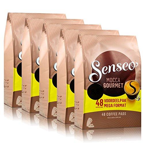 Senseo Kaffeepads Mocca Gourmet, 5er Pack, 5 x 48 Pads