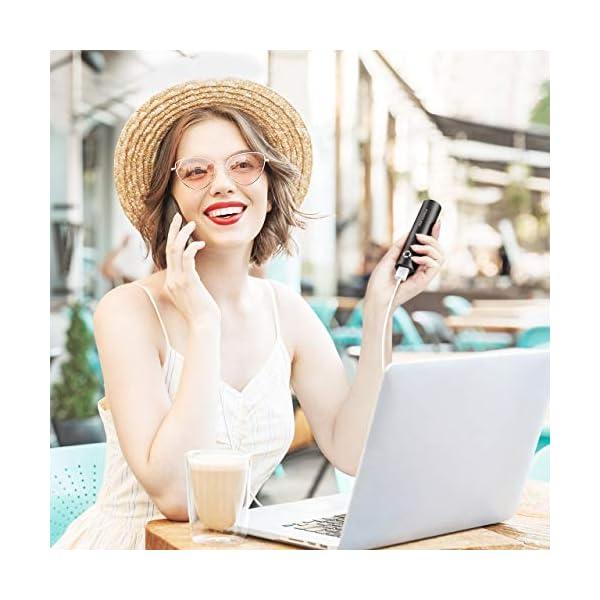 POWERADD EnergyCell Power Bank 5000mAh Cargador Portátil con Salida de 2.4A, Cargador rápido para iPhone,Samsung,Huawei…