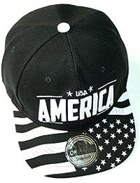 Stars & Stripes Snapback Cap