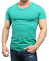 JACK & JONES Herren T-Shirt Basic V-neck Tee S/S Noos, Einfarbig