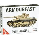 Armourfast 1/72 German Panzer III Ausf J Model Kit - Contains 2 Tanks