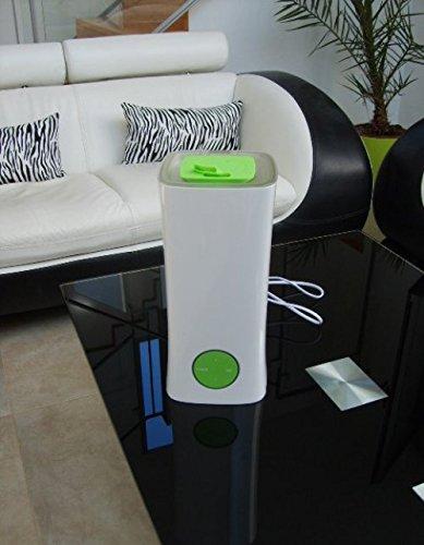 Humidificateur Ultrasonique Silenso Design Moderne Avec Purificateur D'Air Ioniseur Construit Dans Diffuseur D'Huiles Essentielles