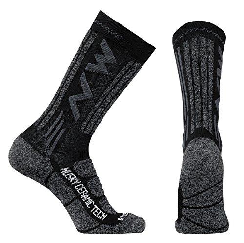 Northwave Husky Ceramic 2 Winter Fahrrad Socken schwarz 2018: Größe: M (40-43)