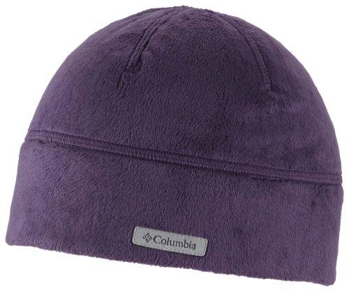 Columbia Damen Mütze Pearl Plush II, dark plum, O/S, CL9716 - Pearl Plush Fleece