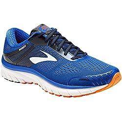 Brooks Adrenaline GTS 18, Zapatillas de Running para Hombre, Azul (Blue/Black/Orange 420), 42 EU