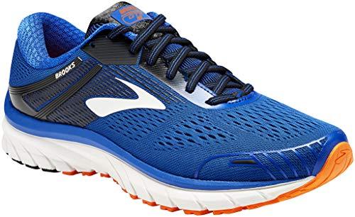 Brooks Adrenaline GTS 18, Zapatillas de Running para Hombre, Azul (Blue/Black/Orange 420), 46.5 EU