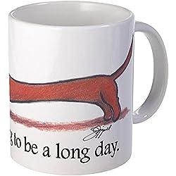 Long Day CafePress taza de perro salchicha T-Shirt - estándar Multi-color