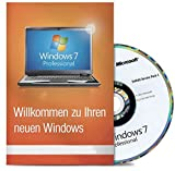 Windows 7 Professional 32 Bit MAR Version Hologramm DVD und COA