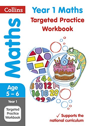 Year 1 Maths Targeted Practice Workbook (Collins KS1 Revision and Practice) por Collins KS1