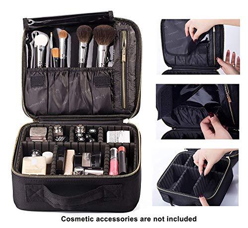 ROWNYEON Bolso Cosméticos Portable Organizador Maquillaje