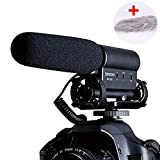 Best Shotgun Mic For Video - HATCHMATIC Takstar SGC-598 Photography condenser CCTV 3.5 Mic Review