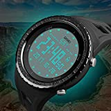 CIVO-Mens-Digital-Military-Sports-Watches-Big-Face-Casual-5ATM-Waterproof-Army-Watch-LED-Back-Light-Electric-Wrist-Watch-for-Men-Rubber-Black