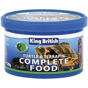 King British Schildkröte und Terrapin Food