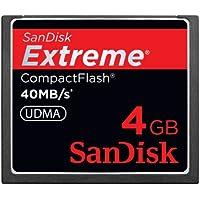 SanDisk Extreme Compact Flash 4GB Speicherkarte