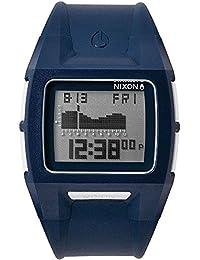 20e7db781bc4 Nixon Lodown II digital Dial Azul Poliuretano a289307 – Reloj de hombre