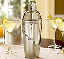 House Of Gifts Ss Dial-A-Drink Cocktail Shaker With 15 Recipes Excellent Rakhi/Rakhee Return Gift For Your Brother Or Sister