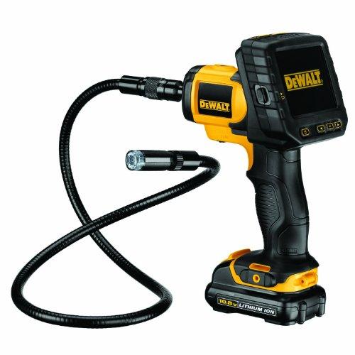 """DeWALT DCT410S1 cámara de inspección industrial - Cámaras de inspección industriales (8,89 cm (3.5\""""), Negro, Amarillo, MicroSD (TransFlash), 10,8 V, Ión de litio, 1 kg)"""
